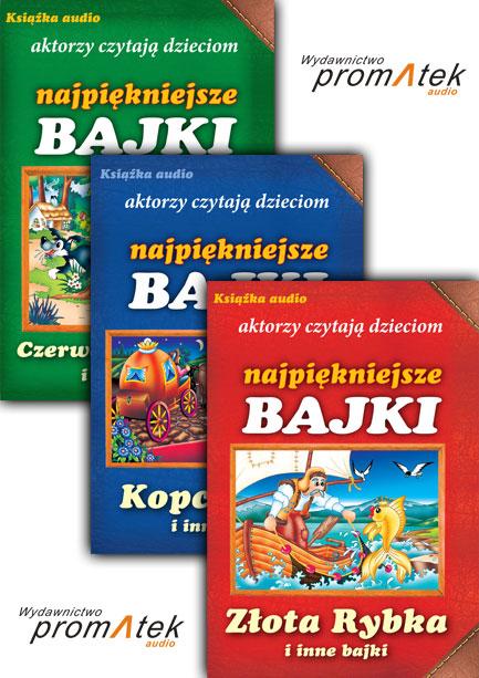 :: PAKIET: Aktorzy czytają dzieciom NAJPIĘKNIEJSZE BAJKI - ZESTAW I na ePartnerzy ::