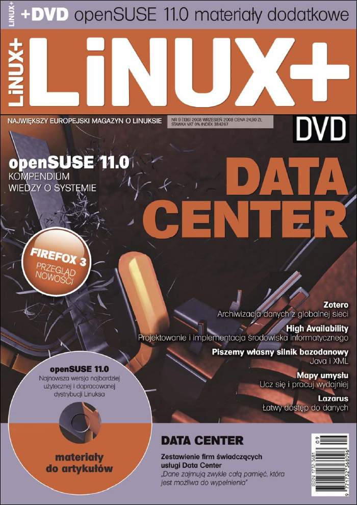 :: e-prasa, komputerowa - miesiecznik LINUX + DVD ::