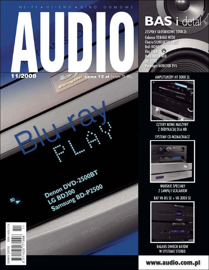 :: magazyn Audio – listopad 2008 na ePartnerzy ::