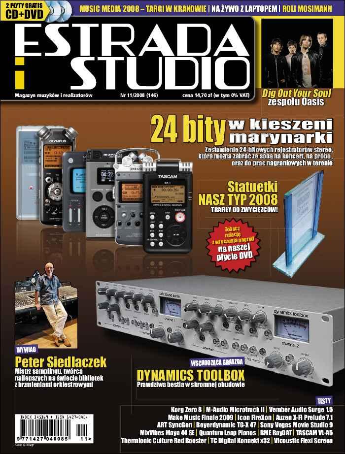 :: magazyn Estrada i studio – listopad 2008 - na ePartnerzy ::