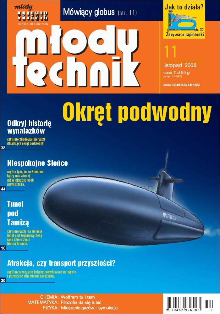 :: Młody technik – listopad 2008 - na ePartnerzy ::