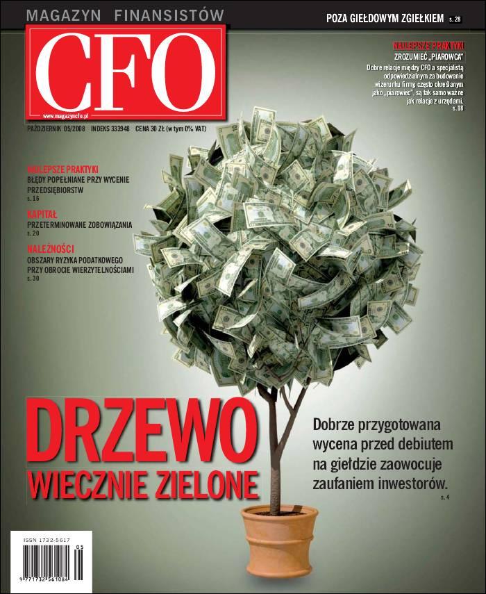 :: CFO Magazyn Finansistów – 2008/05 na ePartnerzy ::