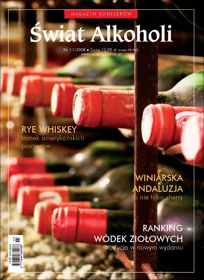 :: magazyn Świat Alkoholi – 11/2008 na ePartnerzy ::