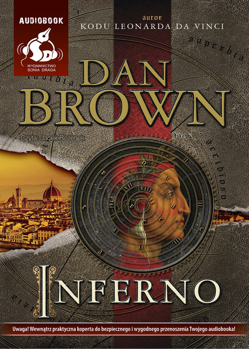 Inferno – audiobook.Autor: Dan Brown