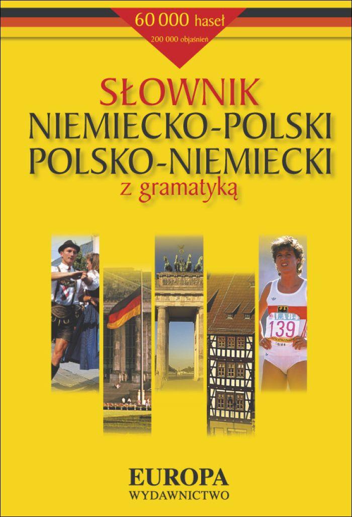 :: Słownik niemiecko-polski polsko-niemiecki z gramatyką - e-book ::
