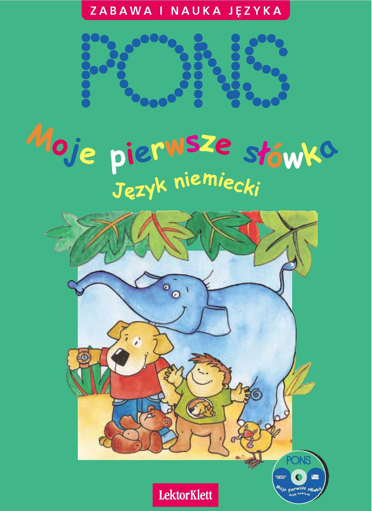 :: Moje pierwsze słówka. Niemiecki  - e-book ::