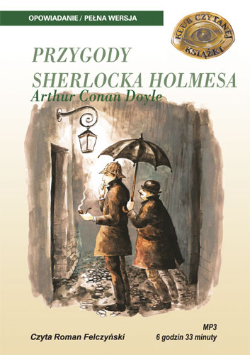 Zobacz więcej -PRZYGODY SHERLOCKA HOLMESA - ARTHUR CONAN DOYLE, książki audio, kryminał i sensacja, mtj