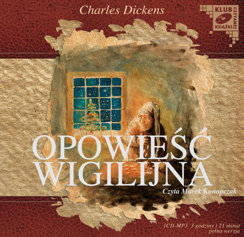 Opowieść Wigilijna, Karol Dickens, MTJ - książka audio, audiobook, mp3