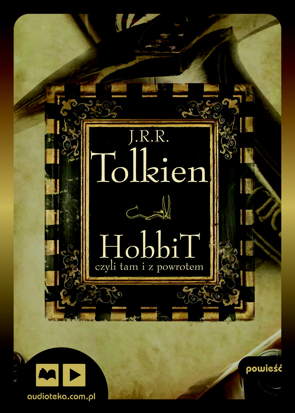 Hobbit, czyli tam i z powrotem audiobook
