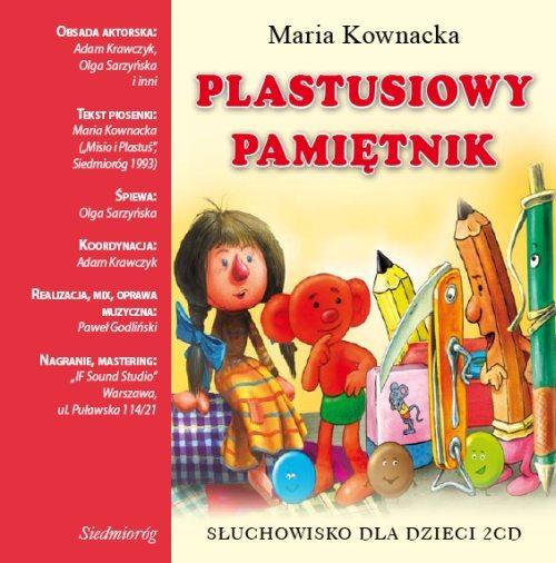 Plastusiowy pamiętnik, Maria Kownacka, PWH Siedmioróg - książka audio, audiobook