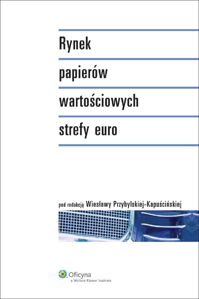 :: Rynek papierów wartościowych strefy euro - e-book ::