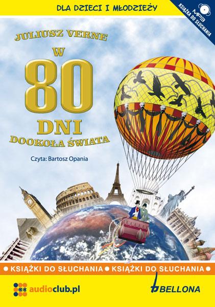 W 80 dni dookoła świata - audiobook, Juliusz Verne, Audioclub.pl - książka audio, audiobook