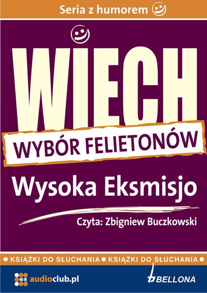 """::Wysoka Eksmisjo (wybrane felietony) - audiobook - Stefan Wiechecki """"Wiech przejdź do opisu ::"""