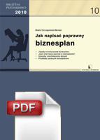:: Jak napisać poprawny biznesplan? - Zamów e-book ::