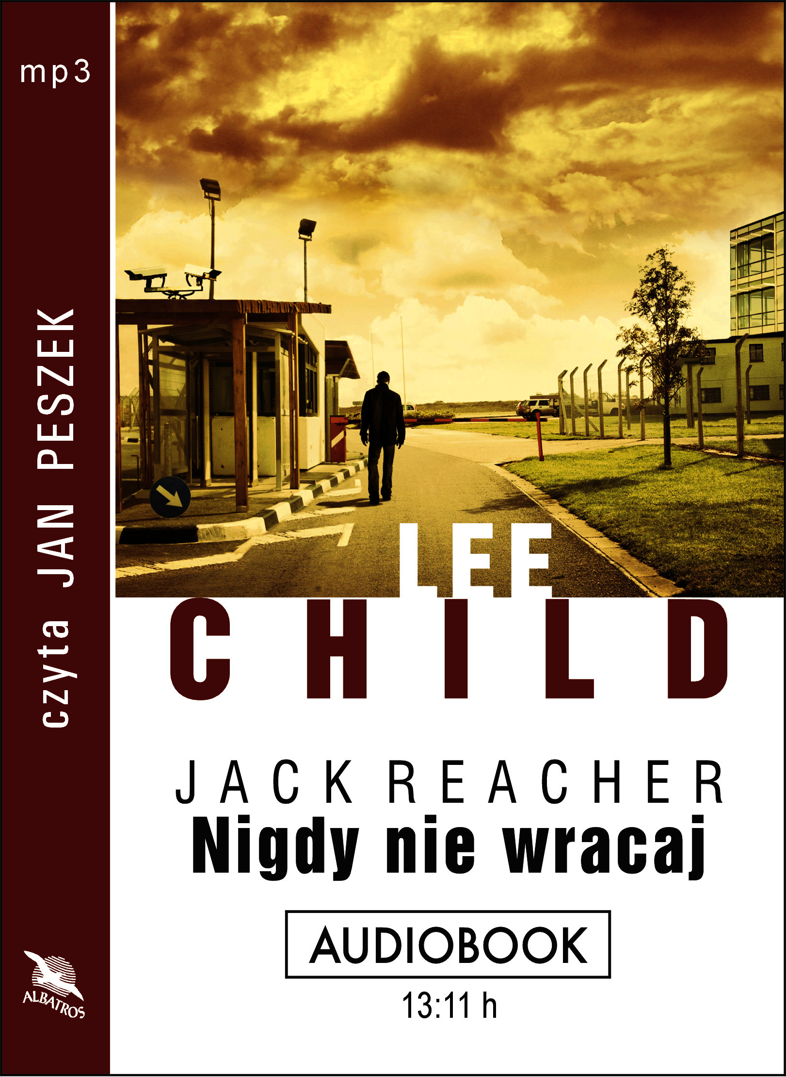 Nigdy nie wracaj – audiobook.Autor: Lee Child