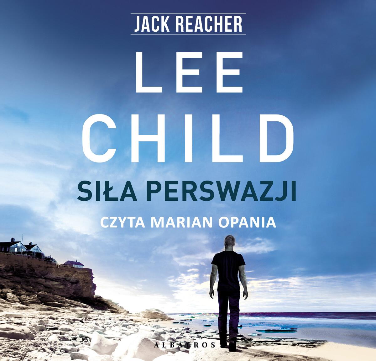 audio,audiobook,lee,child,lee child,audiobooki,Siła perswazji,albatros,wydawnictwo.