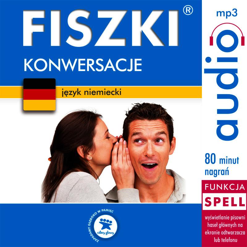 :: FISZKI audio – język niemiecki – Konwersacje - audio kurs  - pobierz kurs audio ::