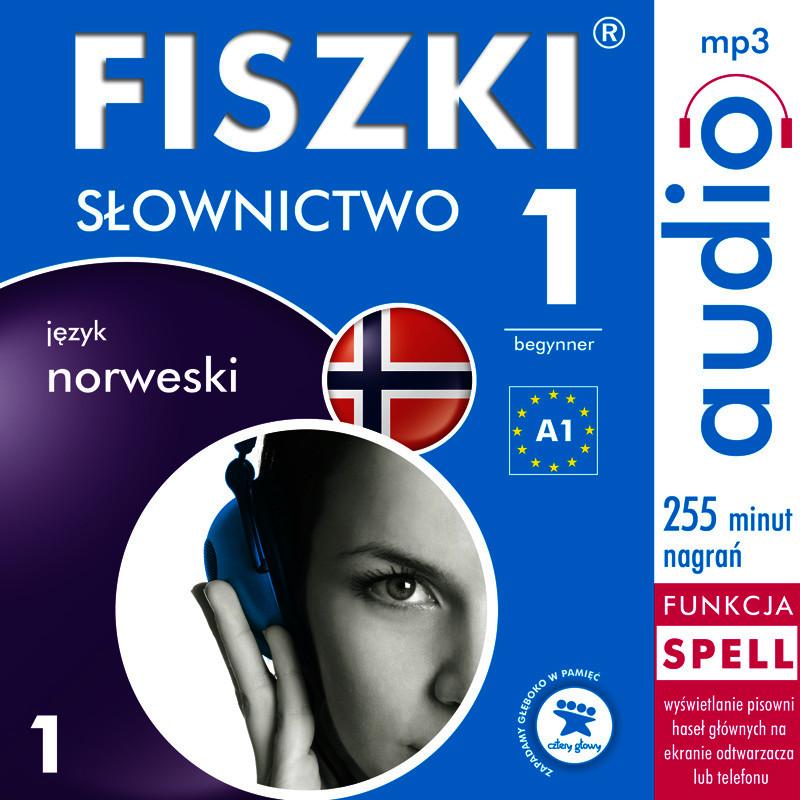 FISZKI,audio,język,Norweski,Słownictwo,audiobook