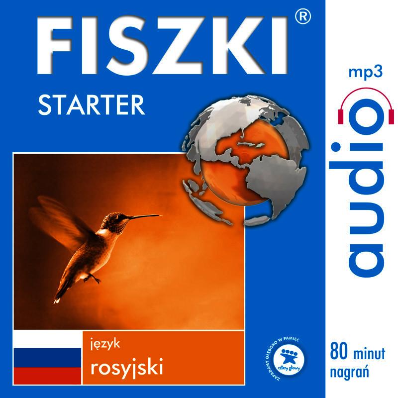 FISZKI,audio,język,rosyjski,Starter,audiobook