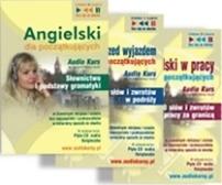 Pakiet Angielski dla początkujących: Słownictwo i podstawy gramatyki + 1000 słów i zwrotów w podróży + 1000 słów i zwrotów w pracy audio kurs