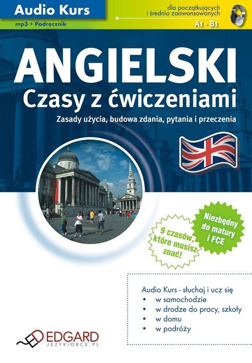 Angielski Czasy z �wiczeniami - auodiobook, ksi��ka audio, mp3