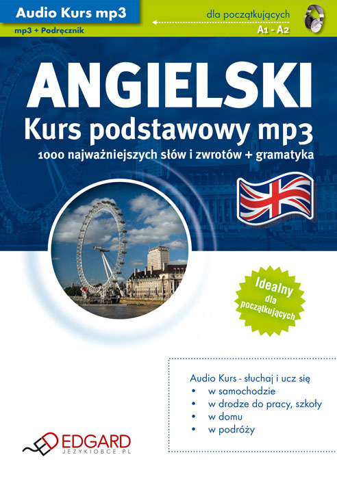 JĘZYK ANGIELSKI NA MP3 - KURS AUDIO mp3 • AUDIOBOOK • KSIĄŻKA AUDIO • MP3