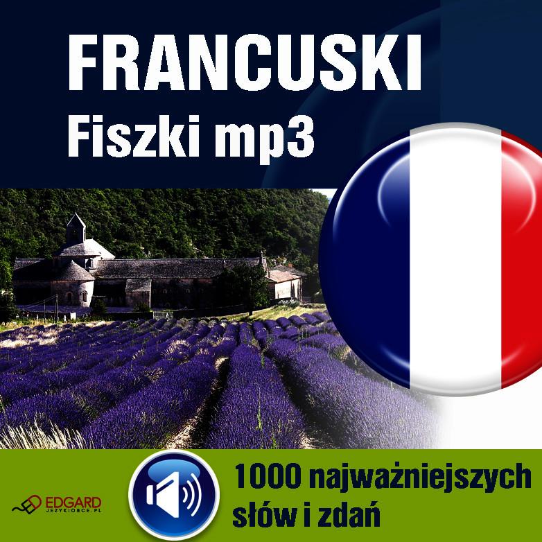 Francuski,FISZKI,audio,język,mp3,1000, najważniejszyc,słów,zdań,audiokurs