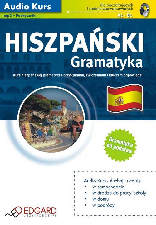 Hiszpański Gramatyka - auodiobook, książka audio, mp3