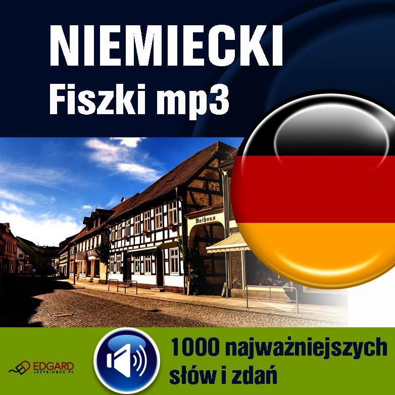 Niemiecki,FISZKI,audio,język,mp3,1000, najważniejszyc,słów,zdań,audiokurs