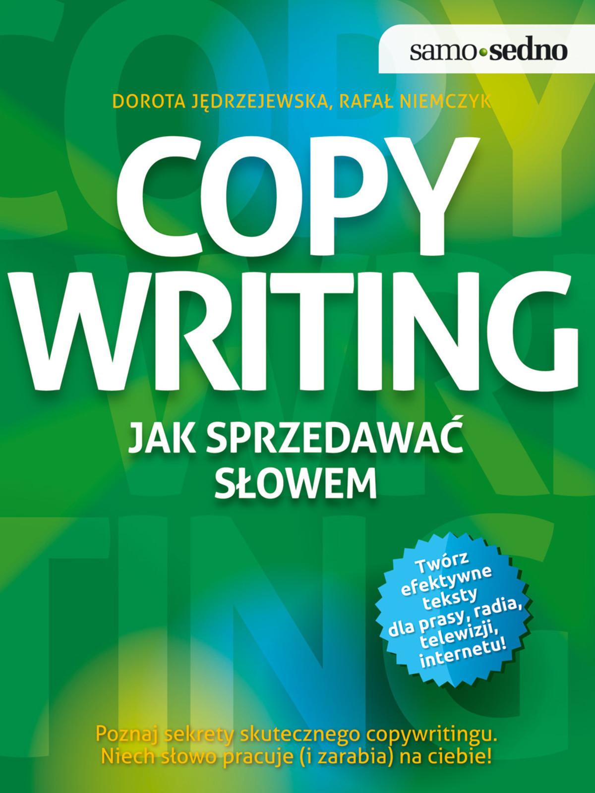 :: Samo Sedno - Copywriting. Jak sprzedawać słowem - e-book ::