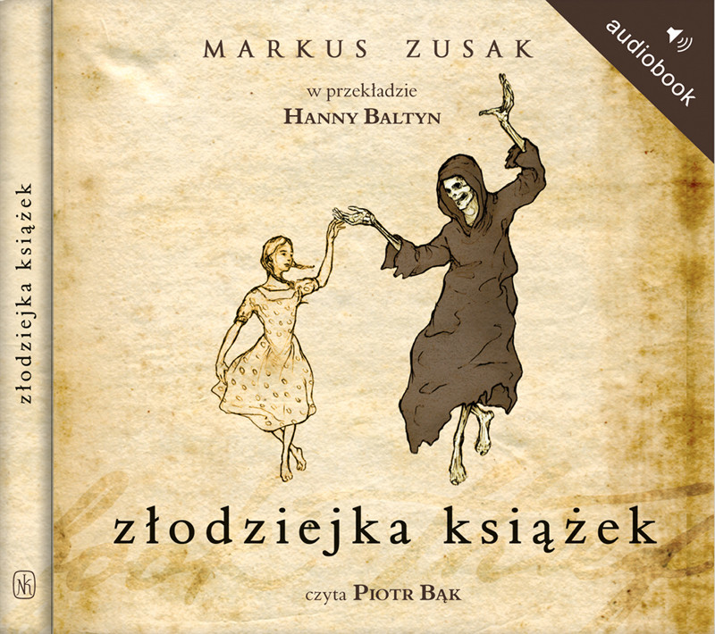 Złodziejka książek, Markus Zusak, Nasza Księgarnia - książka audio, audiobook