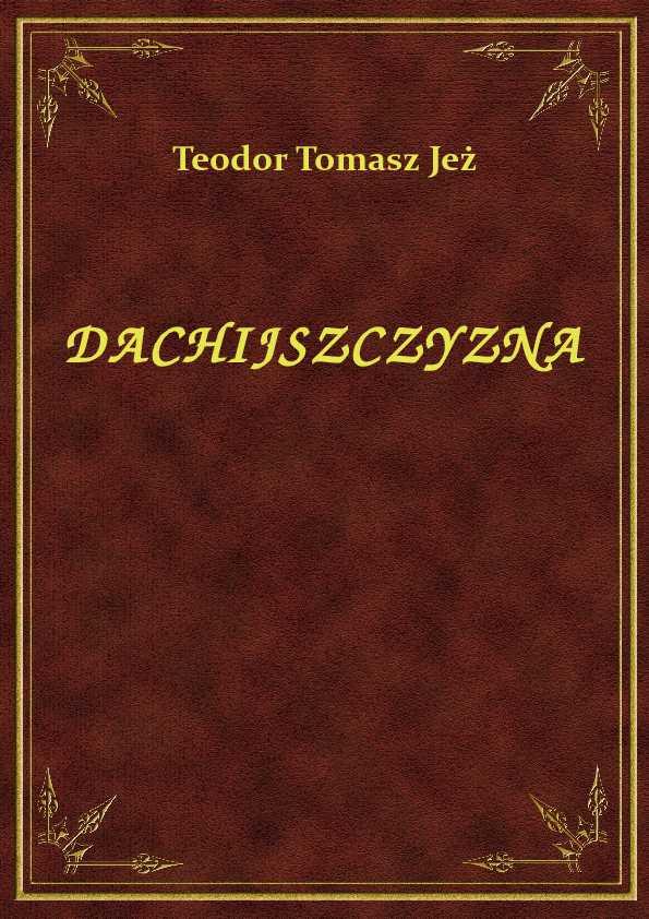 Dachijszczyzna ebook