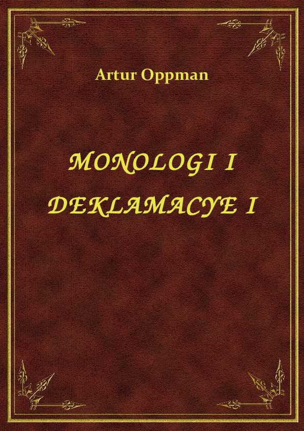 Monologi I Deklamacye I ebook
