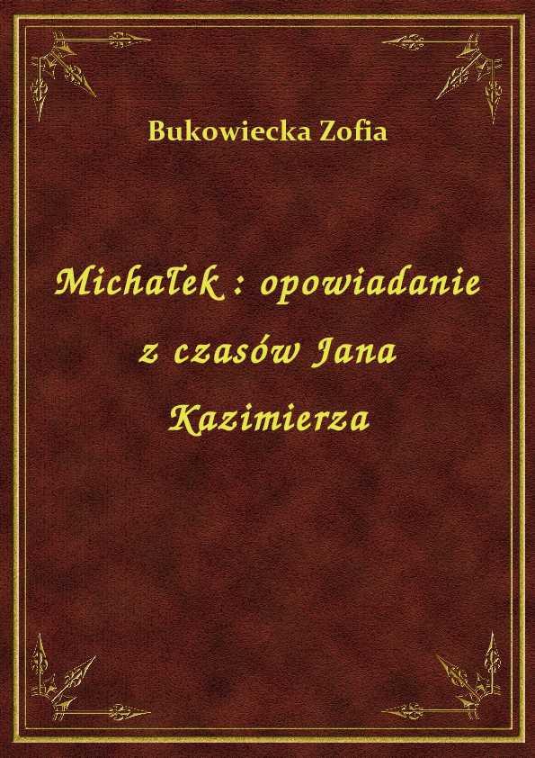 Michałek : opowiadanie z czasów Jana Kazimierza ebook