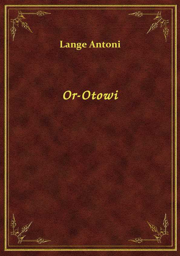 Or-Otowi ebook