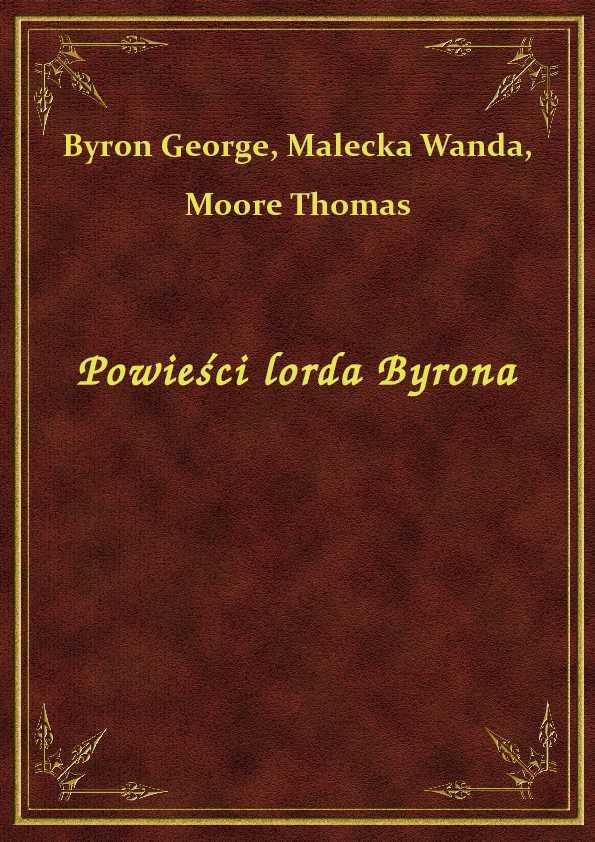 Powieści lorda Byrona ebook