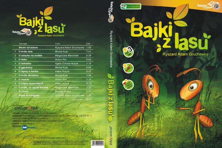 Bajki z lasu - bajki dla dzieci, mp3, audiobook
