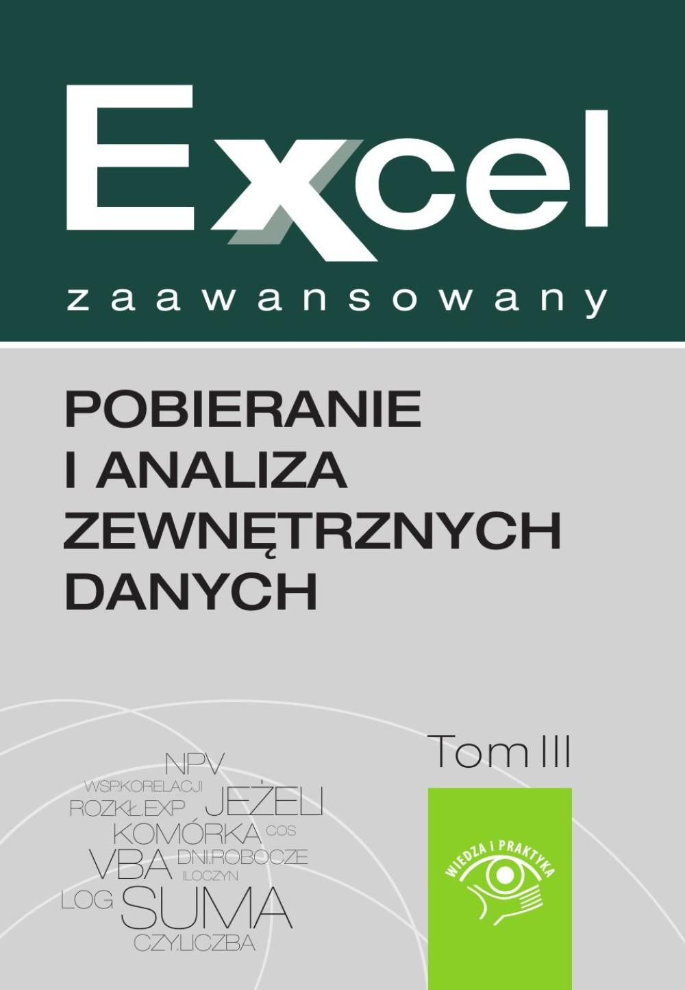 Excel zaawansowany - ScoreCard - zarządzanie procesami biznesowymi z użyciem Excela ebook