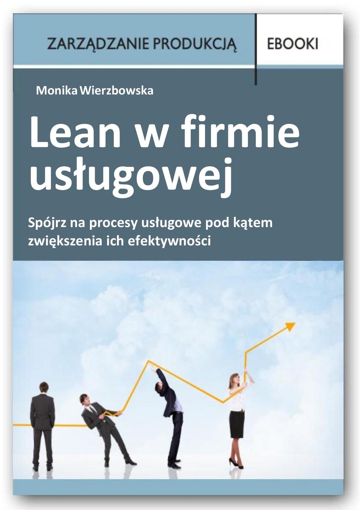 Lean w firmie usługowej ebook