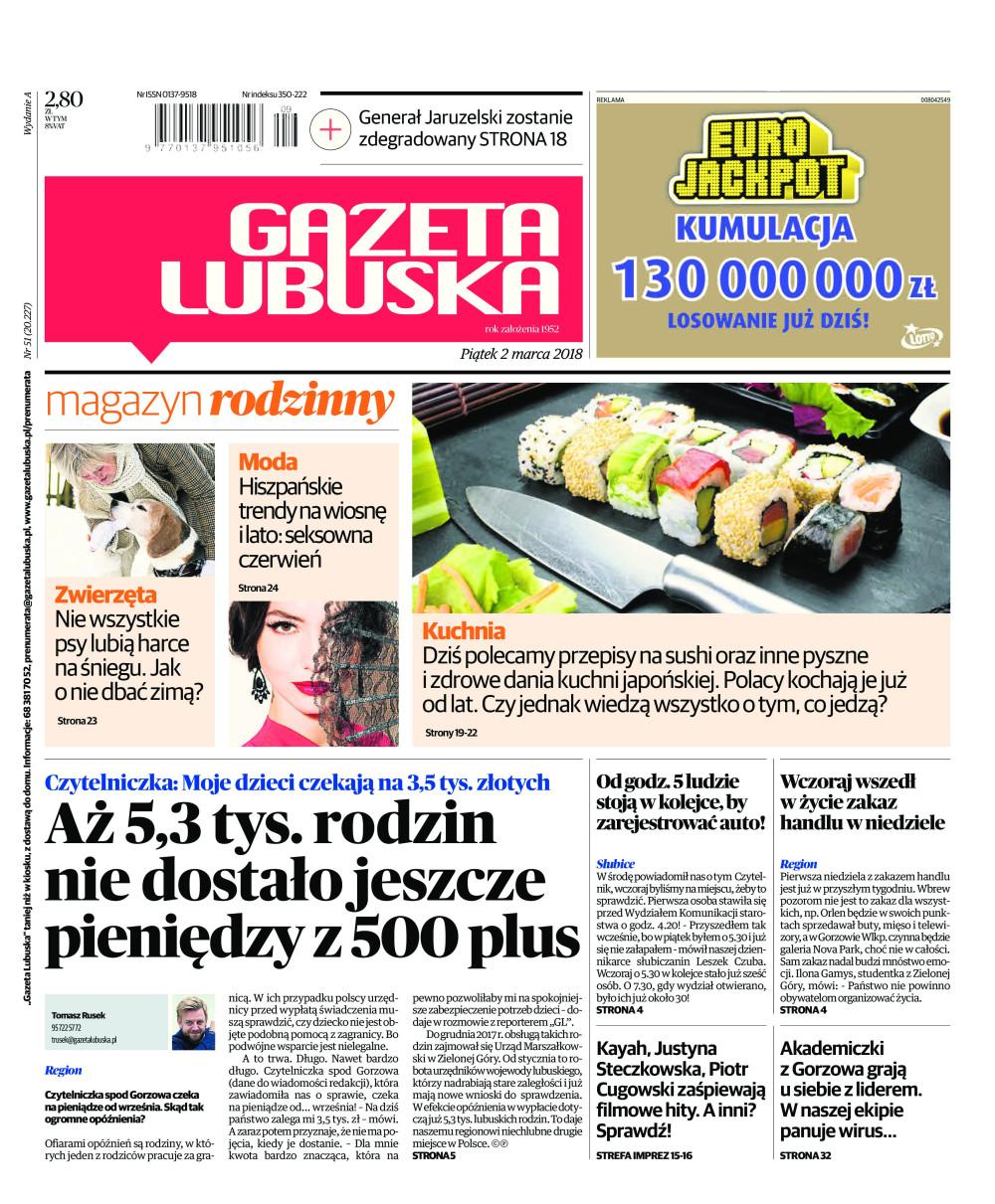 Gazeta Lubuska A Zielona Góra świebodzin Krosno