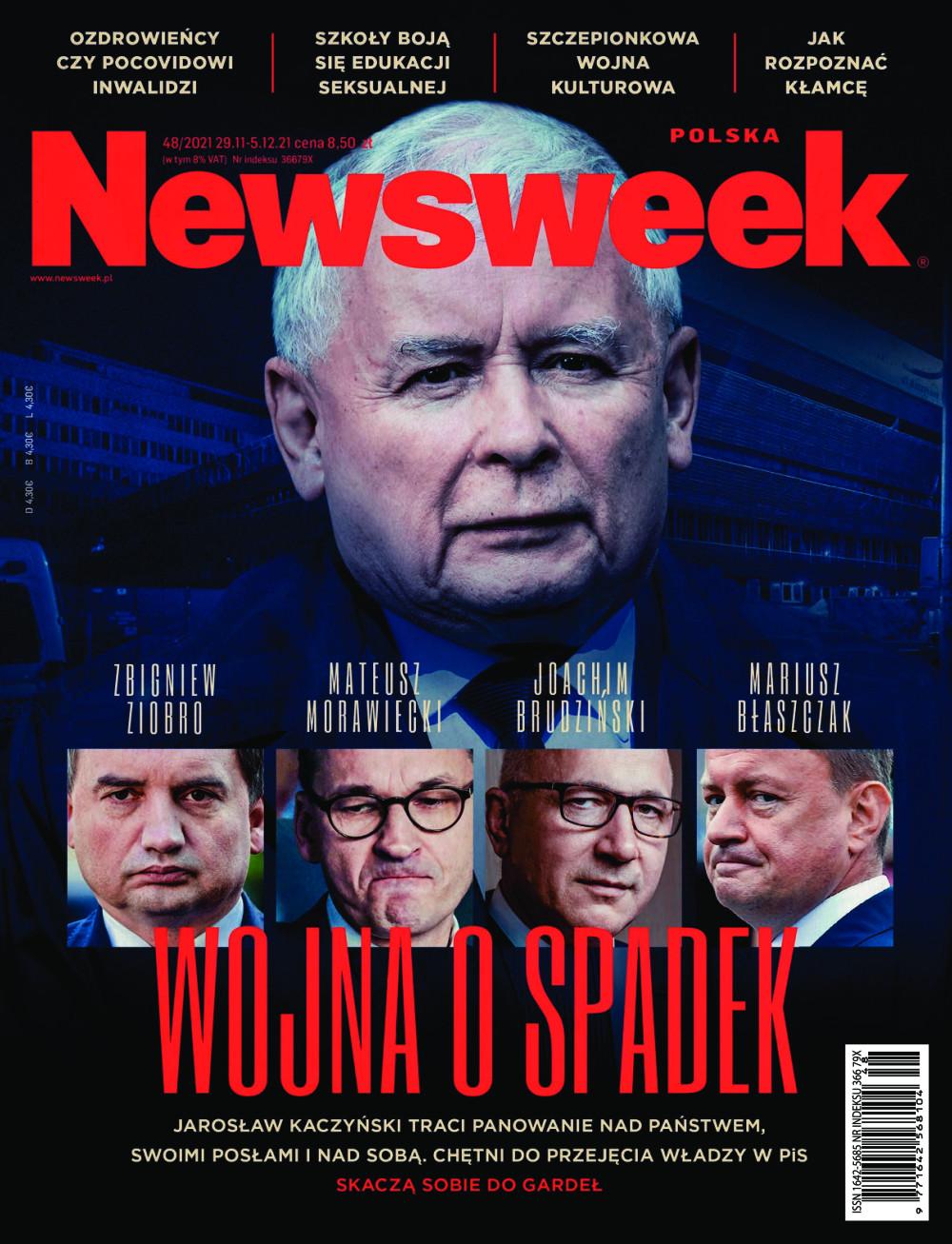 Newsweek, obecny w Polsce od 2001 roku, jest najchętniej czytanym polskim tygodnikiem opinii. Co tydzień zapewnia swoim czytelnikom aktualny i wyrazisty obraz polityki, gospodarki, nauki i kultury.