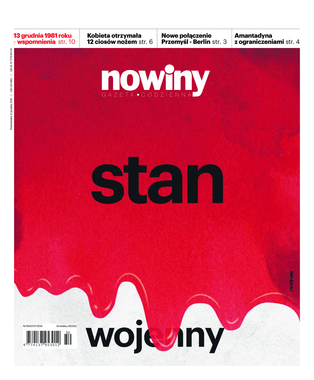 Gazeta Codzienna Nowiny - wydanie Rzeszów - e-wydanie