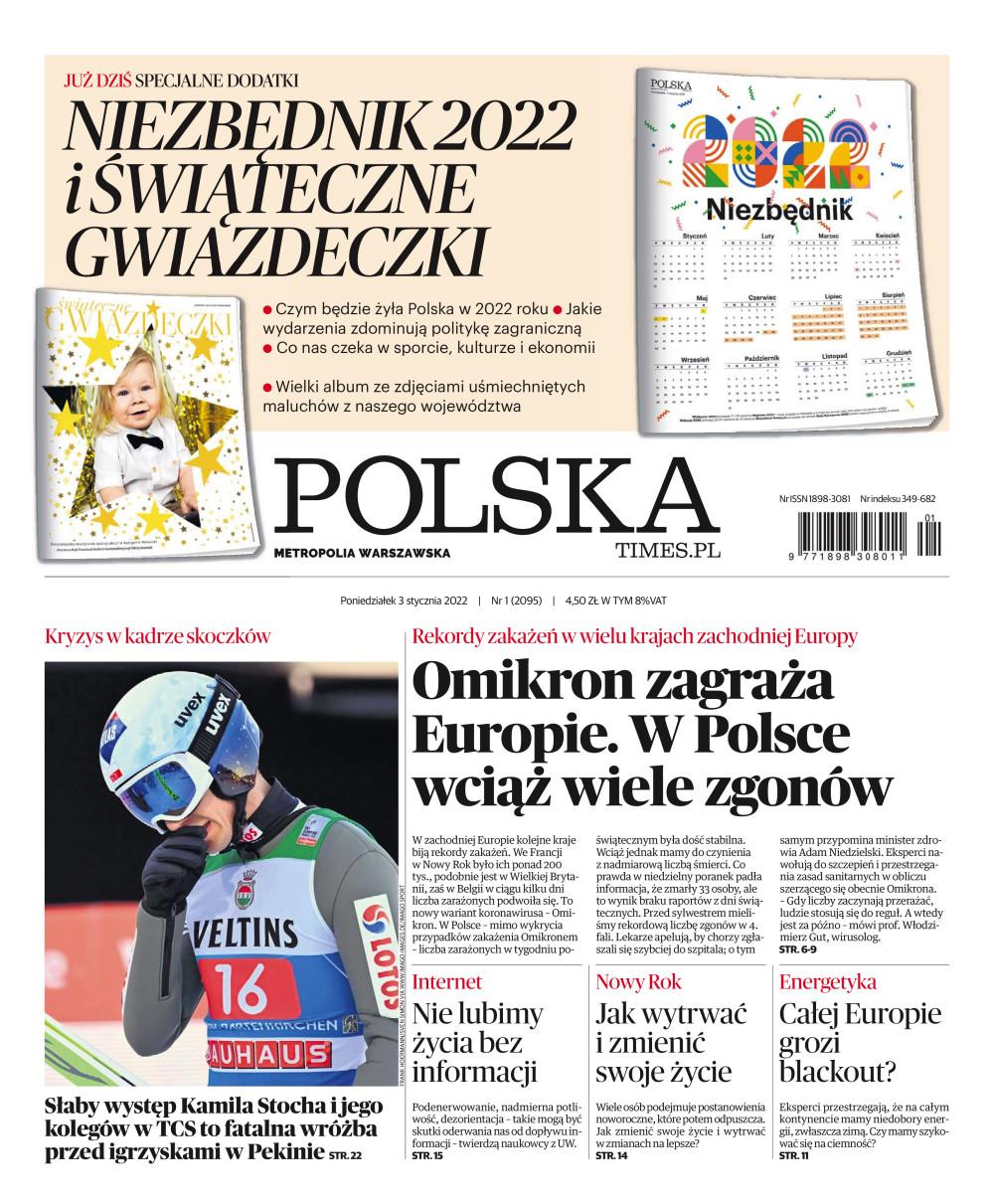 Polska - Metropolia Warszawska  - ePrasa, dziennik, czasopismo społeczno-informacyjne, polityka, gospodarka, biznes